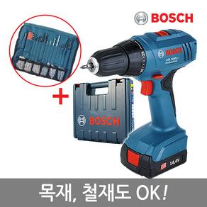 보쉬 14.4V 리튬이온 충전 드릴 GSR 1440-LI, 1개